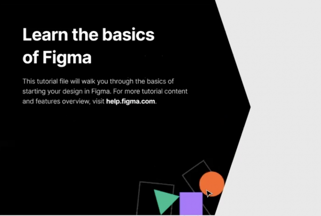 Learn the basics of Figma graphic